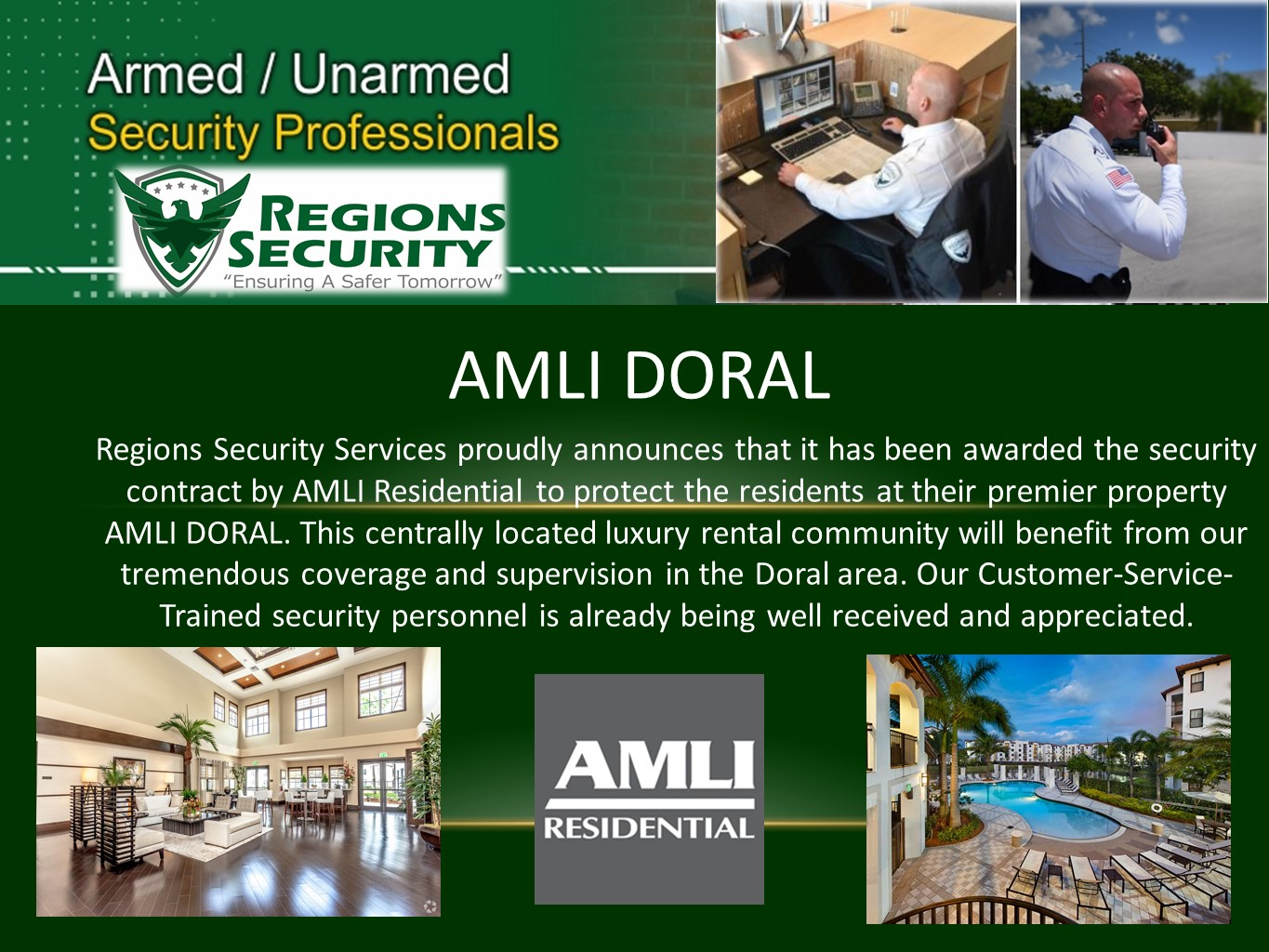 Doral Regions Security Services